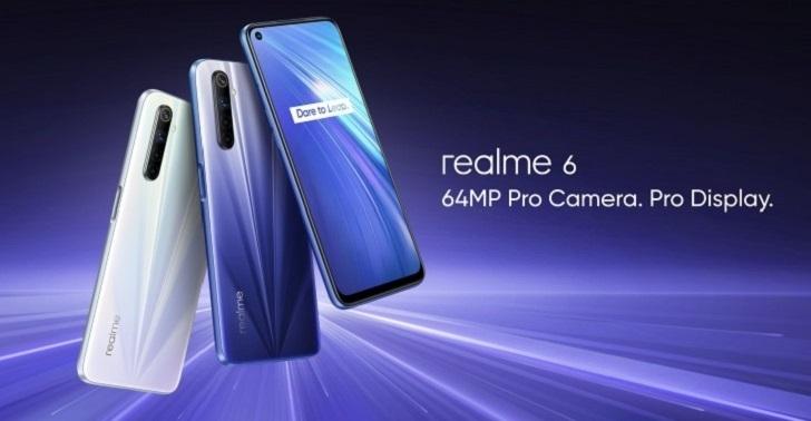 Realme 6 упал в цене на 100 долларов – у Redmi Note 9S нет шансов