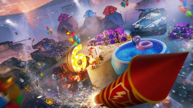 World of Tanks Blitz отмечает шестой день рождения. В Украине игру скачали 7,3 млн раз