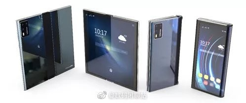 Создатели экрана Xiaomi Mi Mix Alpha представили гибкий дисплей нового поколения