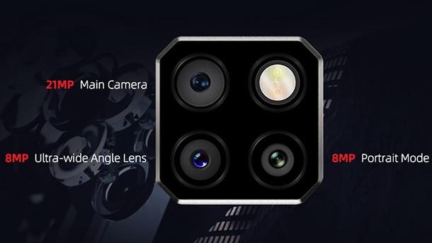 DOOGEE S88 Pro – корпус с IP68, тройная основная камера, NFC и аккумулятор-повербанк!