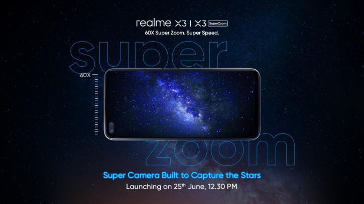 Realme назвала дату анонса Realme X3