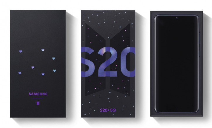 Samsung Galaxy S20+ BTS Edition скоро в России