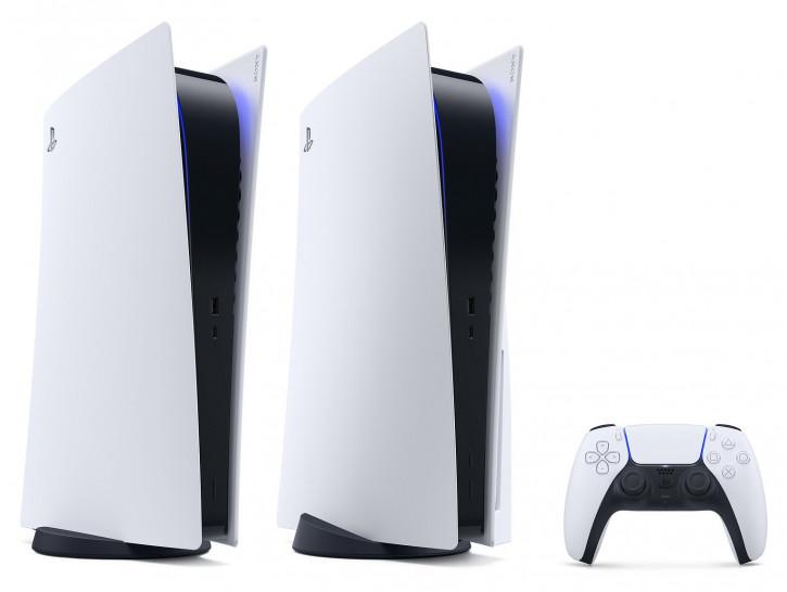 Sony PlayStation 5 в двух вариантах на качественных пресс-рендерах