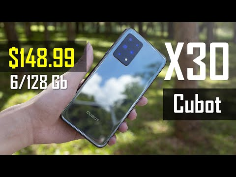 Флагман за $148.99! Такое бывает - смартфон Cubot X30 тому пример + версия 8/256 ГБ