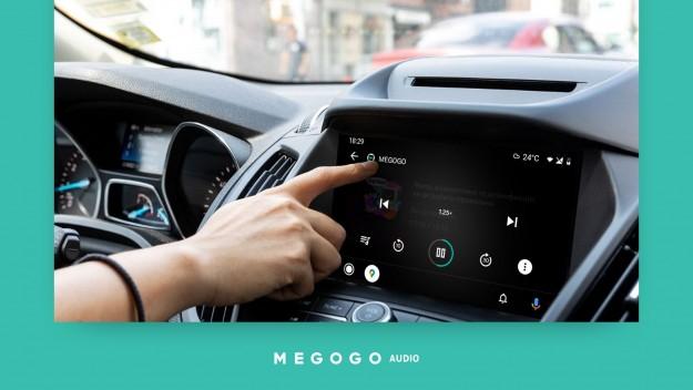 MEGOGO Audio появилось на Android Auto