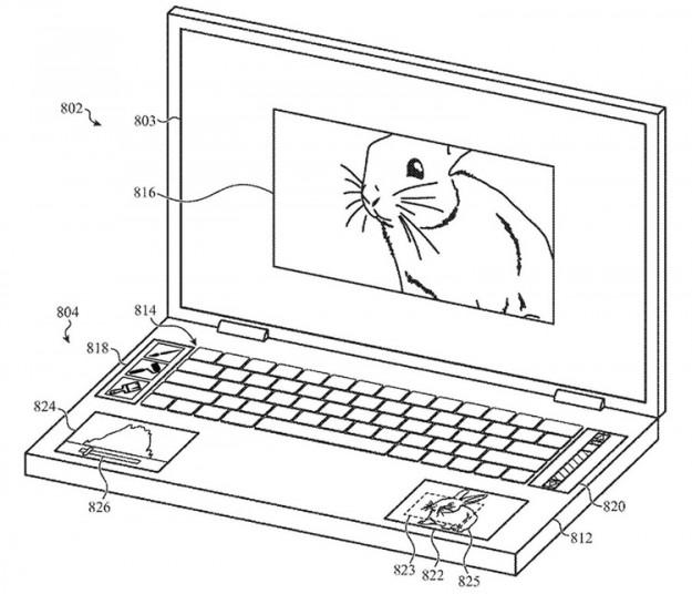 У Apple может появиться ноутбук с пятью дисплеями