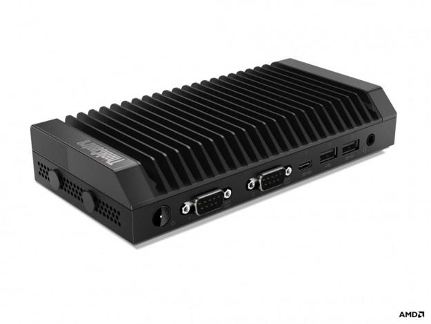 Самые маленькие в мире настольные ПК Lenovo ThinkCentre теперь доступны на базе процессоров AMD