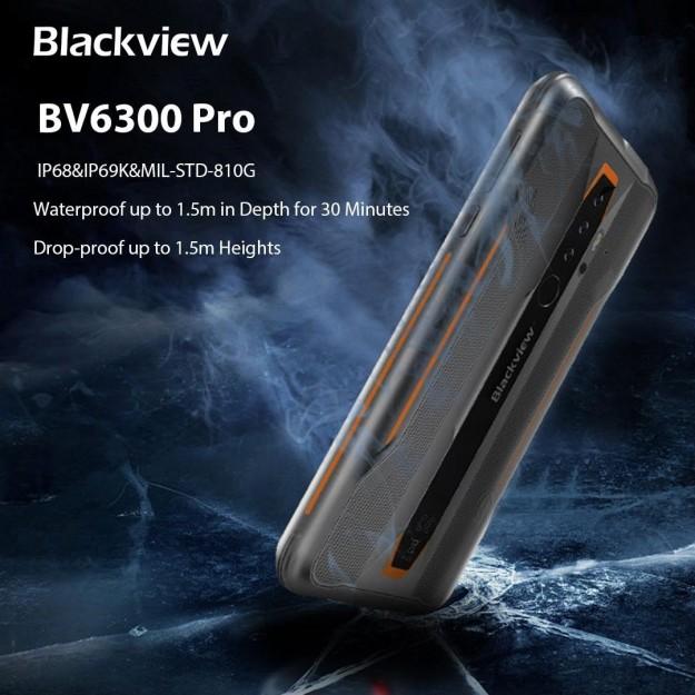 Распаковка защищенного смартфона Blackview BV6300 Pro: первое впечатление от трубки с широкоугольной камерой