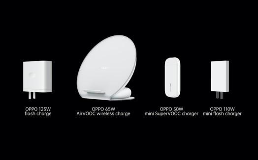 OPPO презентовали 125 Вт Flash Charge, беспроводную быструю зарядку 65 Вт AirVOOC и ультра ...