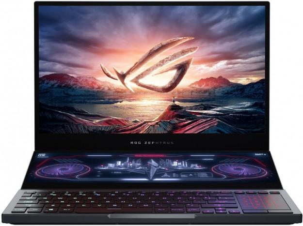Геймерский ноутбук с двумя экранами ROG Zephyrus Duo 15 – уже в Украине