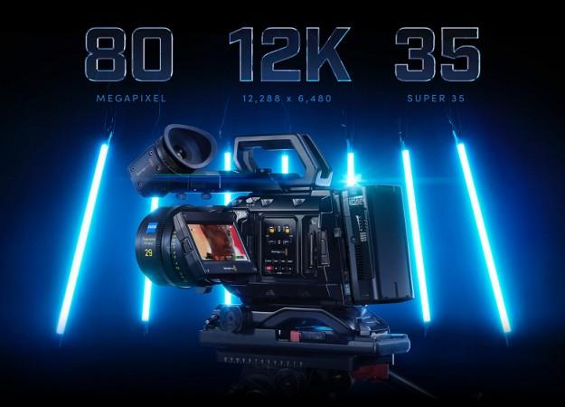Камера Blackmagic URSA Mini Pro позволяет снимать видео 12K в формате RAW с частотой 60 к/с