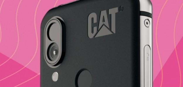 Неубиваемый смартфон Caterpillar получил тепловизор нового поколения