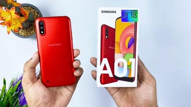 Samsung Galaxy A01 – бюджетный смартфон для повседневного использования