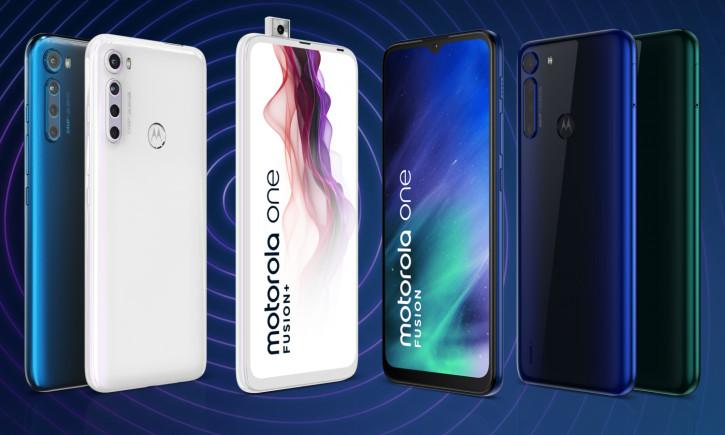 Анонс Motorola One Fusion+: выдвижная фронталка и четыре камеры