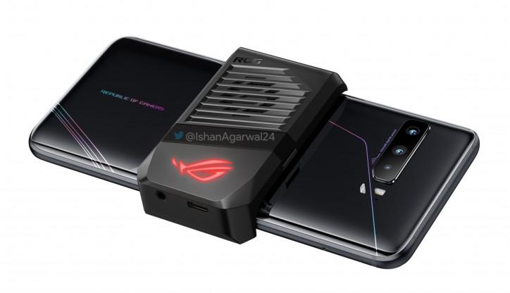 ASUS встроила аудиоджек в вентилятор ROG Phone 3