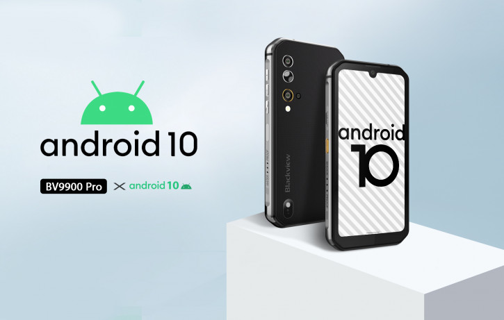 Blackview обновит флагман BV9900 Pro до Android 10 и улучшит камеру