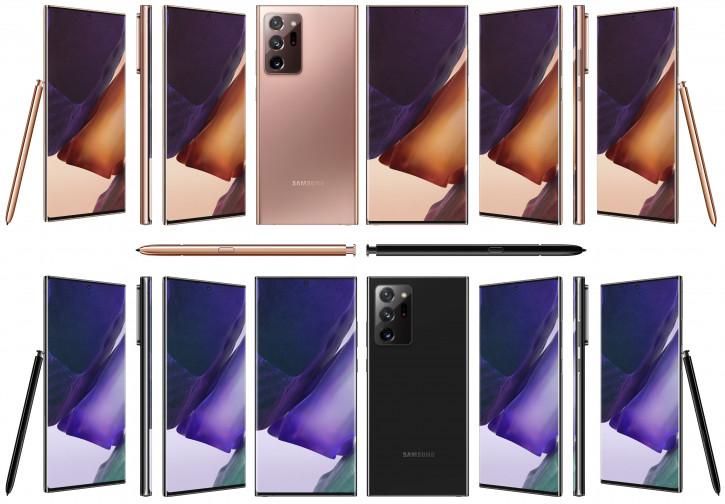 Обои Samsung Galaxy Note 20 уже доступны для скачивания