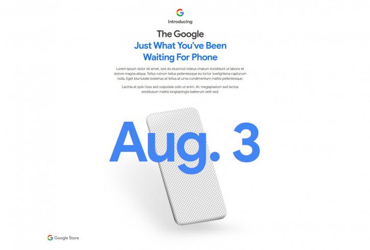 Официально: Google Pixel 4a представят в понедельник