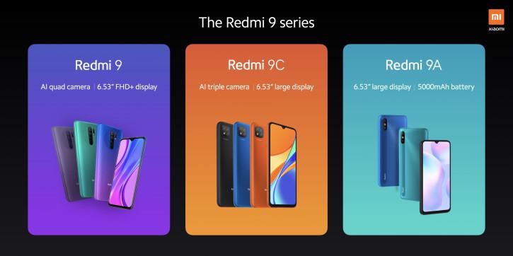 Цена Xiaomi Redmi 9, 9A, 9C и Mi Band 5 в Европе