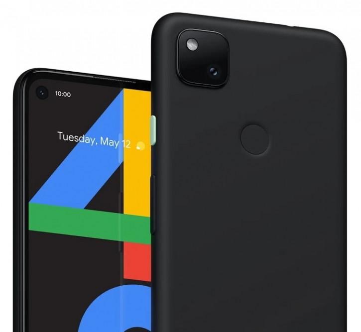 Предвестник анонса? Пресс-рендер Google Pixel 4a в черном цвете