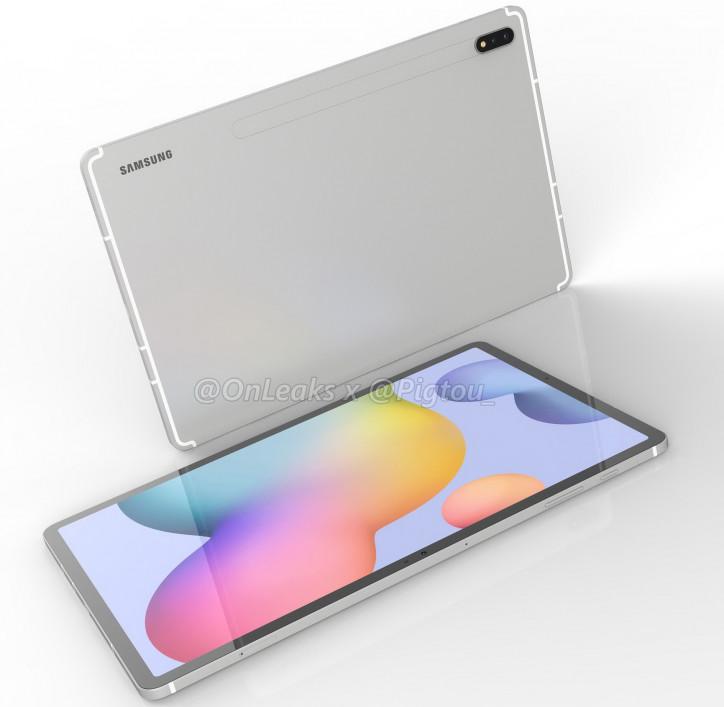 Snapdragon 865+ и другие характеристики Samsung Galaxy Tab S7+