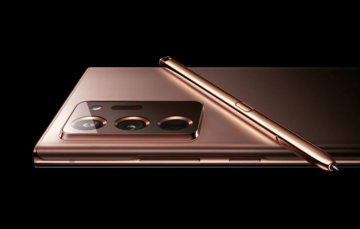 Samsung случайно показала Galaxy Note 20 (+) на официальном сайте