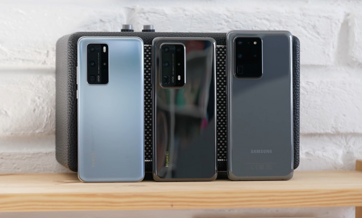 ВИДЕО: обзор Huawei P40 Pro+ вместе с P40 Pro и Galaxy S20 Ultra