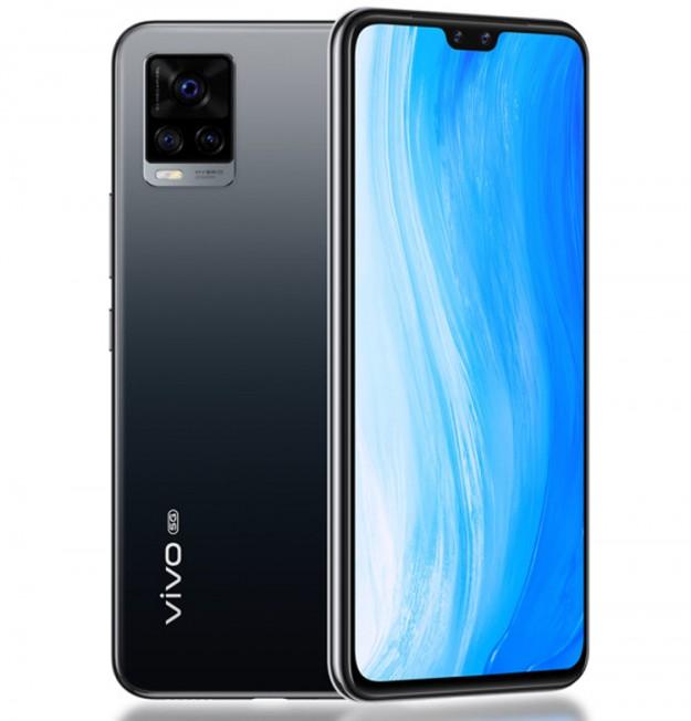 Представлен смартфон Vivo S7 с двойной селфи-камерой и поддержкой 5G