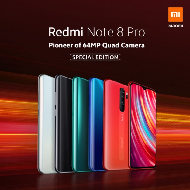 Xiaomi представила Redmi Note 8 Pro SE