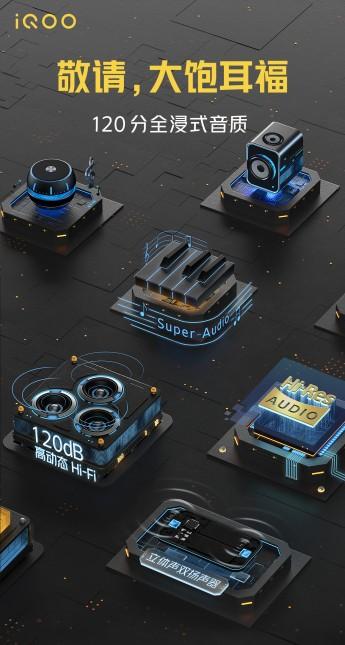 120 Гц, Snapdragon 865 и мощный стереозвук: новые детали серии iQOO 5