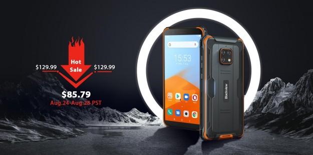 Blackview BV4900 – смартфон «Космическая капсула» доступен на предпродаже за $85.79 со скидкой 34%