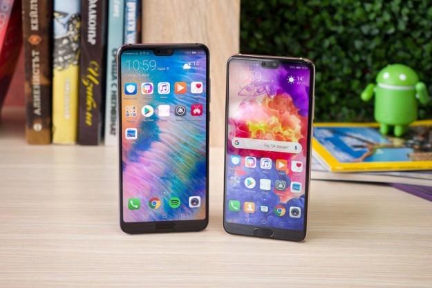 Двухлетние Huawei P20 и P20 Pro получили огромное обновление