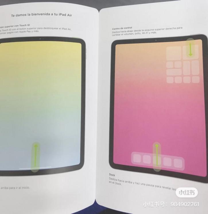 Брошюра iPad Air 2020 демонстрирует дизайн и важные детали новинки