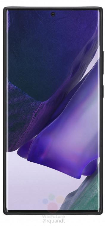 Много пресс-фото Samsung Galaxy Note 20 в официальных чехлах