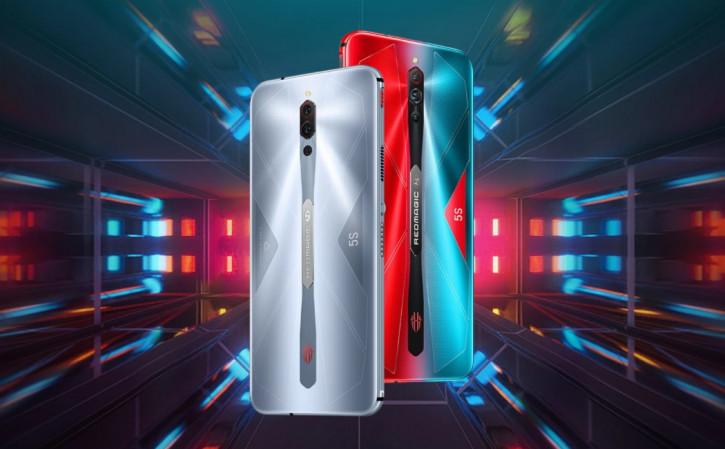 Nubia Red Magic 5S со 144-Гц экраном вышел за пределы Китая (цена)