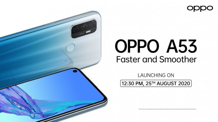 OPPO A53: бюджетник с 90-Гц экраном получил дату анонса