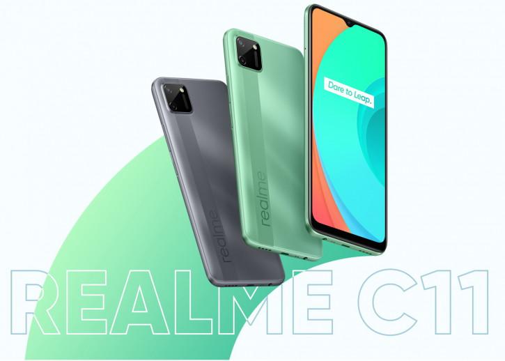 Цена Realme C11 и Realme Buds Air Neo в России