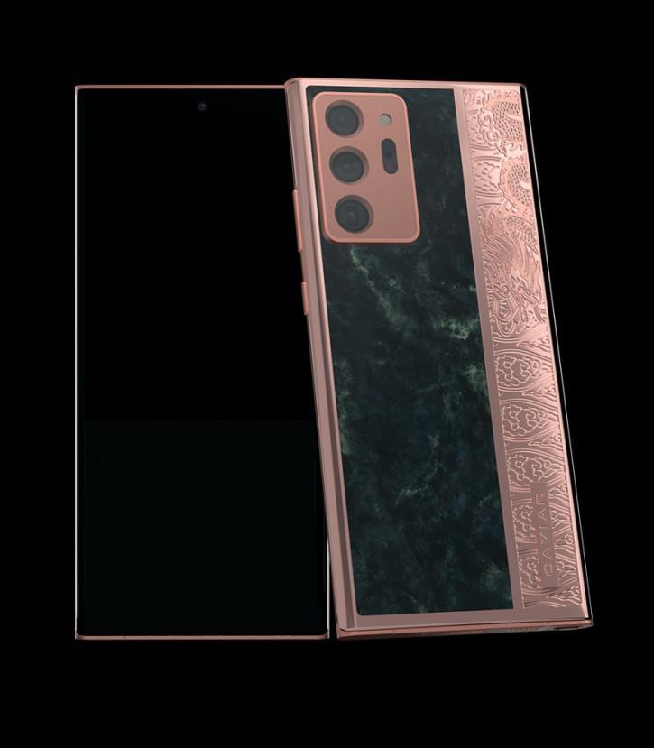 Представлен Samsung Galaxy Note 20 Ultra из золота и мрамора за $6260