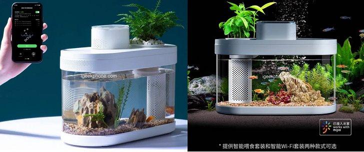 Xiaomi представила умный аквариум за 50 долларов