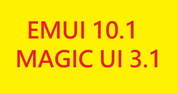 Huawei и Honor обновили шесть смартфонов до EMUI 10.1 и Magic UI 3.1