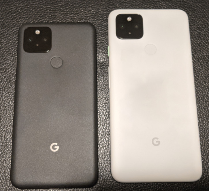 Живые снимки и слив характеристик Google Pixel 5 и Pixel 4a 5G