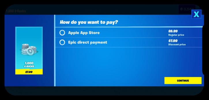 Значит, война? Apple лишит создателей Fortnite инструментов разработки