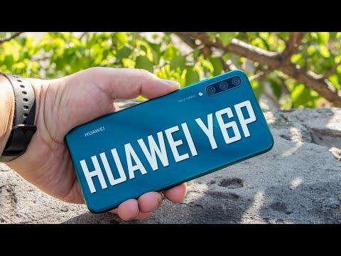 Huawei Y6P - самый доступный AG смартфон. Видео обзор