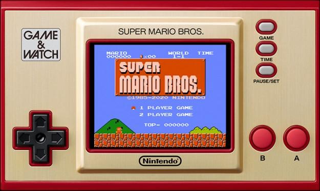 «Ну погоди!» от Nintendo. Переиздание легендарной портативной консоли Game & Watch