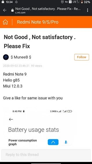 MIUI 12 разъярила владельцев Redmi Note 9 наличием многочисленных багов