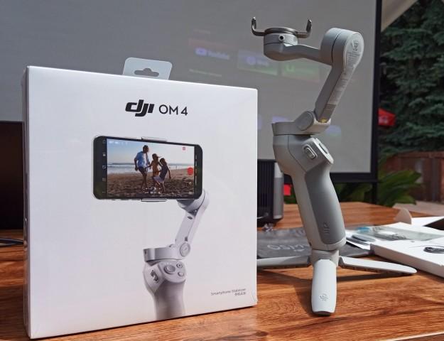Стабилизатор для смартфонов DJI OM4 уже в Украине. Реальные фото + пример съемки