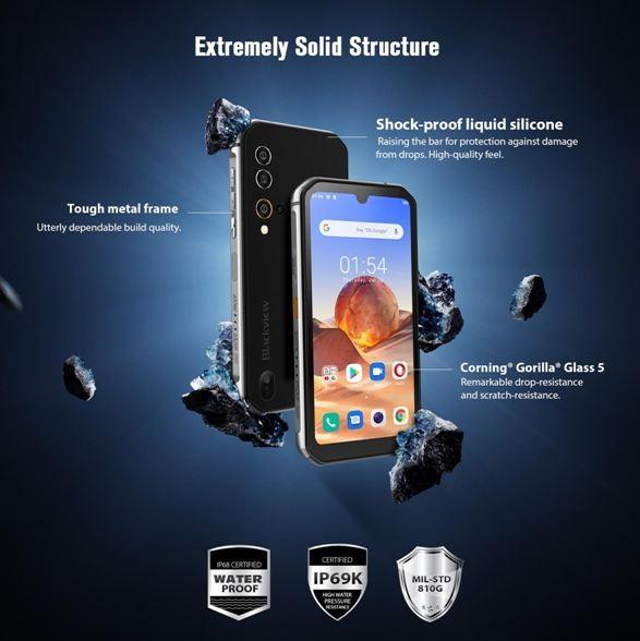 Лучший бюджетный защищенный смартфон 2020 года - Blackview BV9900E – для любых условий