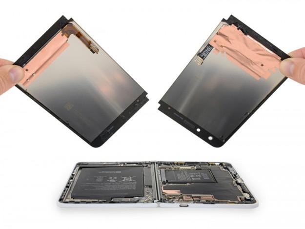 Смартфон-книжку Microsoft Surface Duo практически невозможно отремонтировать