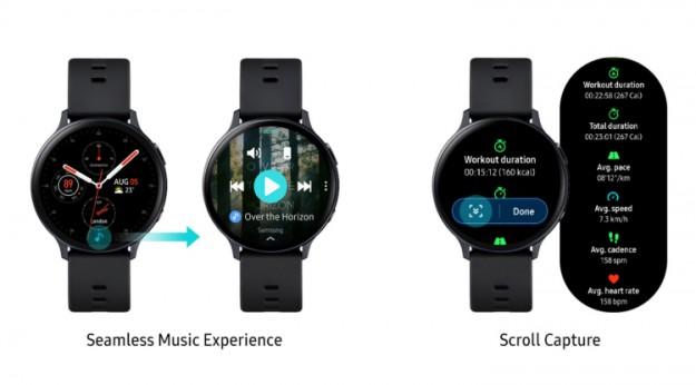 Новые функции часов Samsung Galaxy Watch Active2 помогут в занятиях спортом и общении