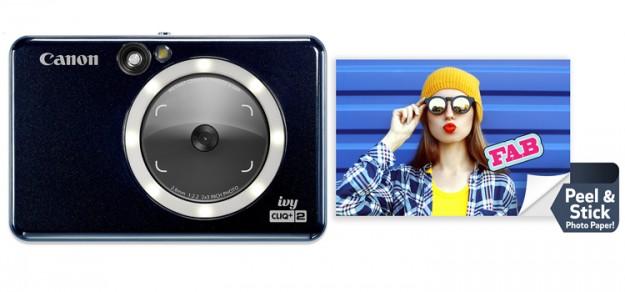 Canon представила новые карманные фотокамеры Ivy Cliq с функцией мгновенной печати
